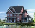 龙德轻钢房屋8别墅